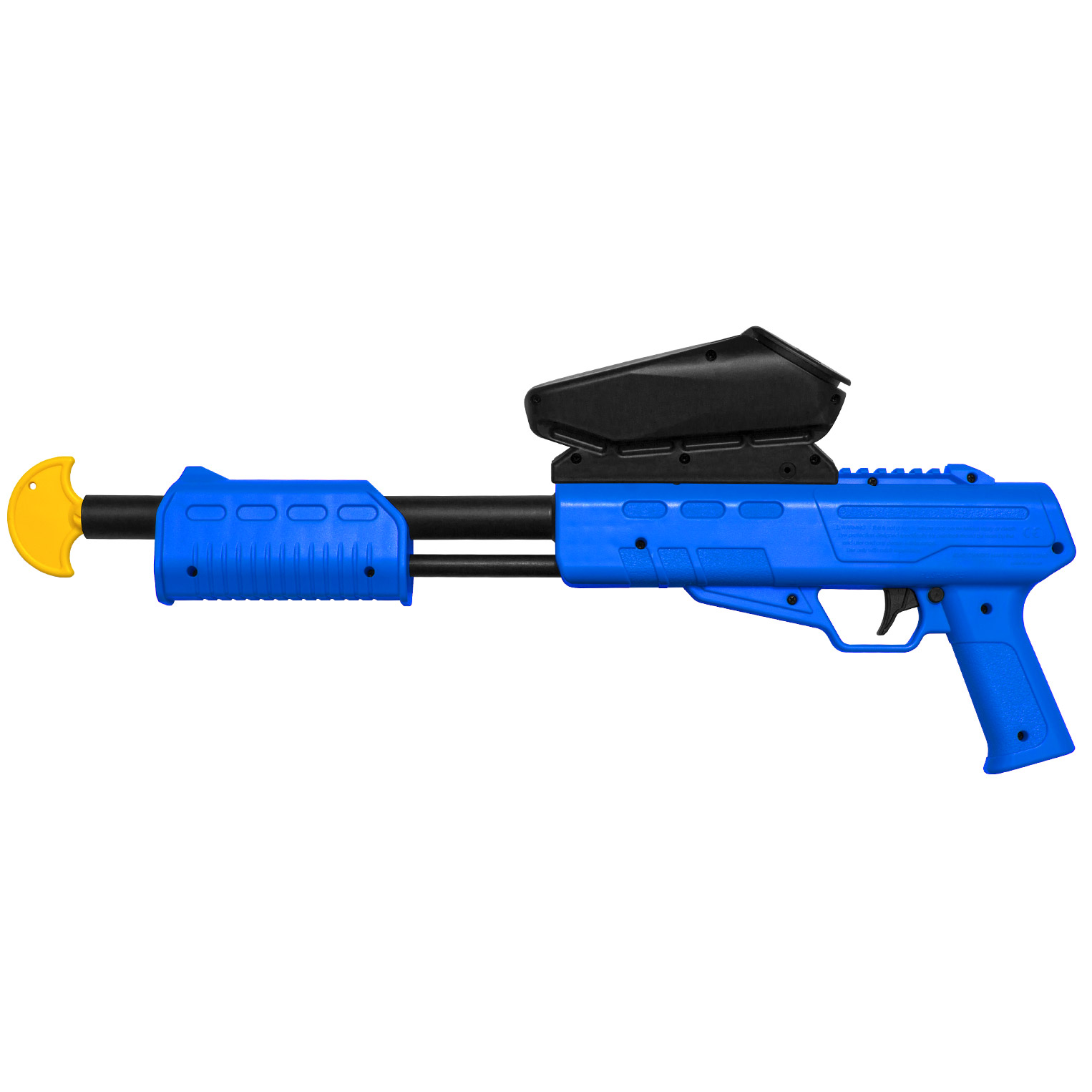 PAINTBALL MARKERS CAL. 50 (0.5 J) INCL.LOADER (BLUE) - Free Shipping