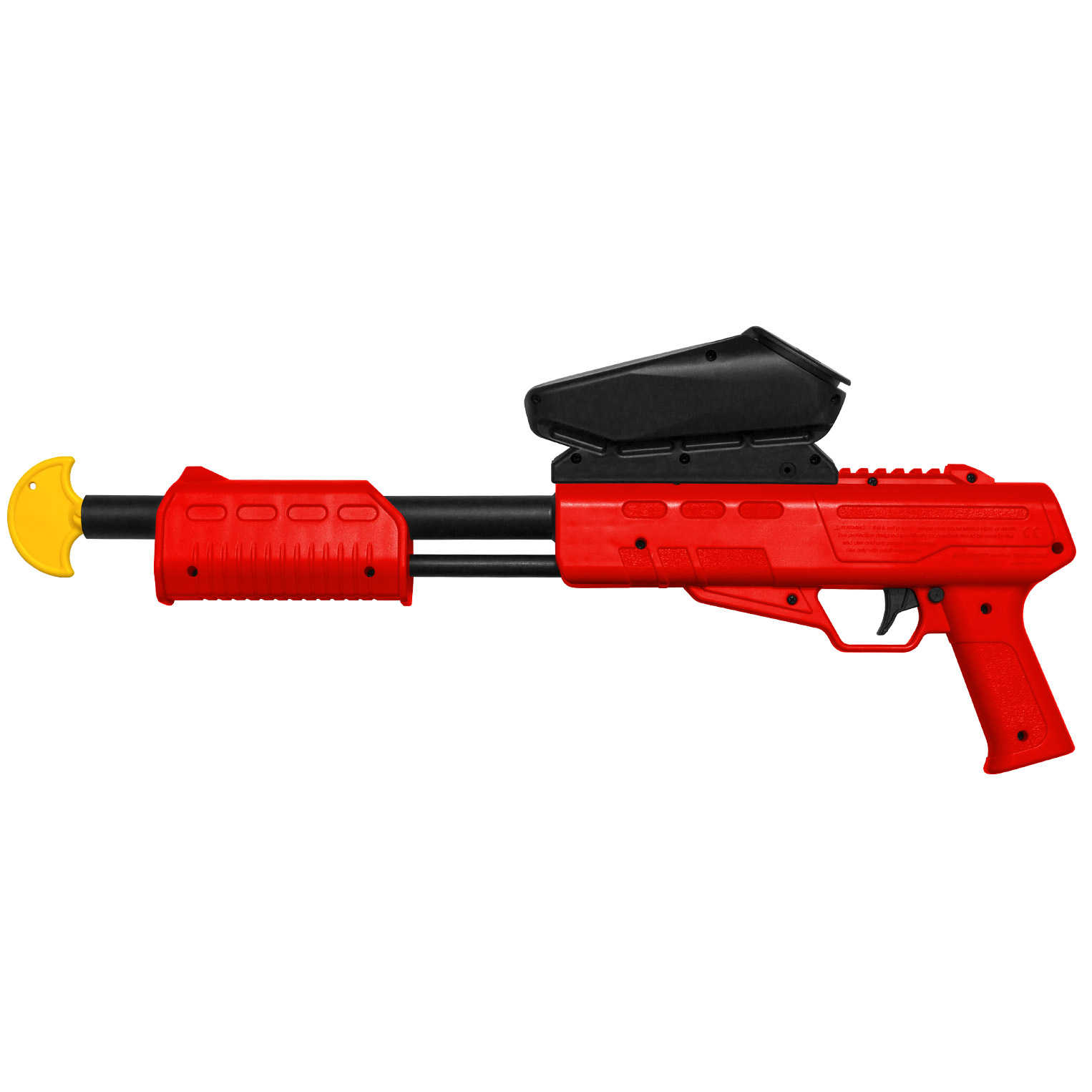 BLASTER KIDS PAINTBALL MARKER CAL. 50 (0.5 J) INCL.LOADER (RED) - Free Shipping*